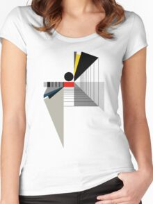 BLACK POINT Women's Fitted Scoop T-Shirt
