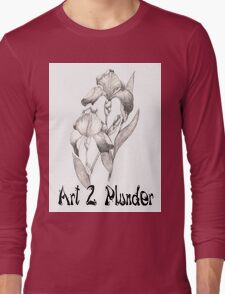 Art 2 Plunder Logo 2 Long Sleeve T-Shirt
