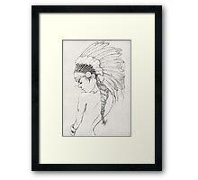 Head Girl Framed Print