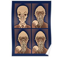 Ood One Out - Silent Poster