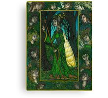 The Forest Queen Canvas Print