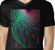 Thistle T-Shirt 1 Mens V-Neck T-Shirt