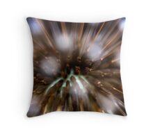 Dandelion seed head (teraxacum ruderalia)  Throw Pillow
