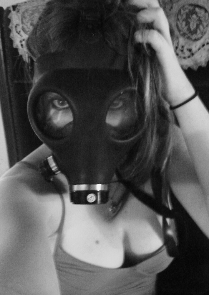 Gas Mask by Diana Forgione