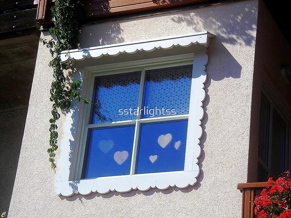 Hearted Sweety Window by sstarlightss