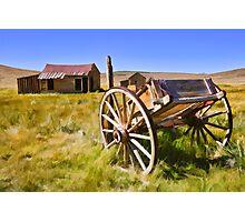 Bodie Wagon Photographic Print