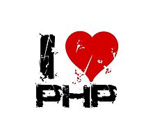 I Love PHP by adinagraphics