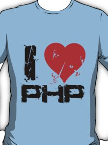 I Love PHP T-Shirt