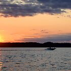 Torch Lake (Michigan)  by Peggy Berger