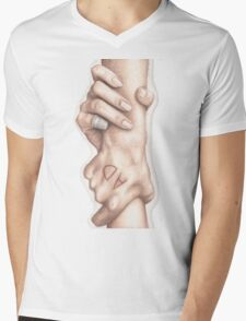 Booker, Catch! Mens V-Neck T-Shirt