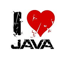 I Love Java by adinagraphics