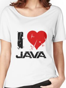 I Love Java Women's Relaxed Fit T-Shirt