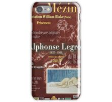 Affiche design -EXPOSITION ALPHONSE LEGROS -FRANCE- iPhone Case/Skin