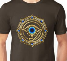 Nazar - protection amulet - eye of providence - all seeing eye, Horus Unisex T-Shirt
