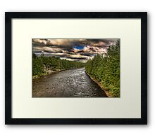 View from Above Framed Print