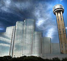The Hyatt Regency & Reunion Tower - Dallas by Dyle Warren