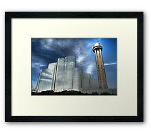The Hyatt Regency & Reunion Tower - Dallas Framed Print