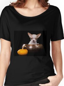 chihuahua puppy Women's Relaxed Fit T-Shirt