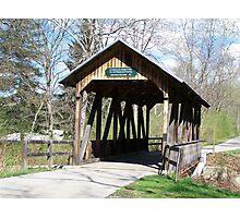 Boy Scout Bridge Photographic Print