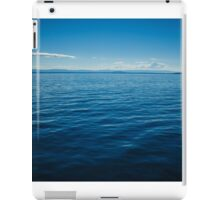 calm waters iPad Case/Skin