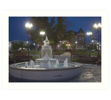 Historical Downtown McMinnville Tennessee Art Print