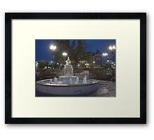 Historical Downtown McMinnville Tennessee Framed Print