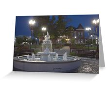 Historical Downtown McMinnville Tennessee Greeting Card