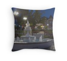 Historical Downtown McMinnville Tennessee Throw Pillow