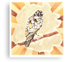 Canary in a Cathouse Canvas Print