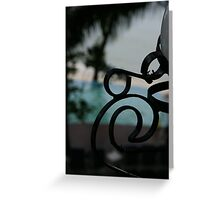 What's A Nice Curl Like You Doin' In A Place Like This? Greeting Card