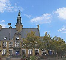 Oostduinkerke - Townhall - Belgium by Gilberte