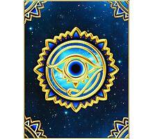 EYE OF HORUS - Eye of Providence - All Seeing Eye, Nazar Photographic Print