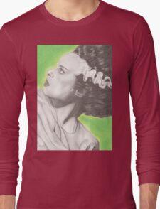 The Bride of Frankenstein Long Sleeve T-Shirt