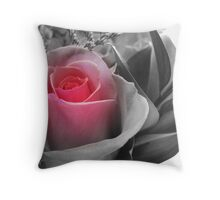A Touch Of Pink... Throw Pillow