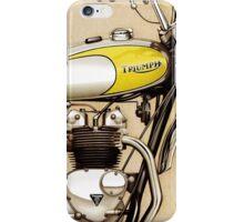 Triumph Trophy TR5T iPhone Case/Skin