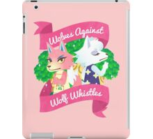 Wolves Against Wolf Whistles iPad Case/Skin