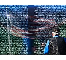 Viet Nam Wall of Honor Photographic Print