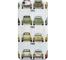 Beetle Time line iPhone Case/Skin