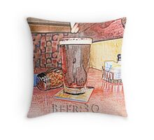Beer Thirty Throw Pillow