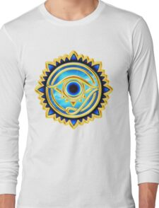EYE OF HORUS - Eye of Providence - All Seeing Eye, Nazar Long Sleeve T-Shirt