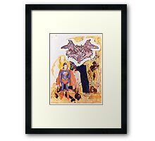 Neitzche Complex (Superman) Framed Print