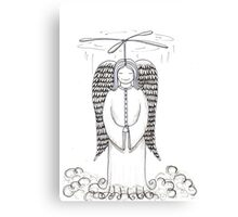 Angel to the Rescue!  Canvas Print