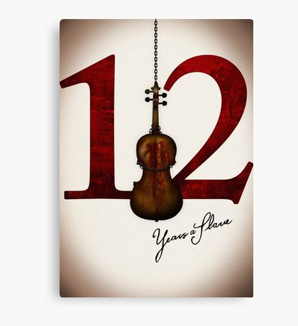 12 Years a Slave Canvas Print
