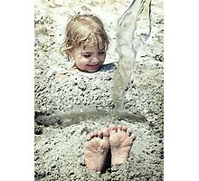 Foot Loose Photographic Print