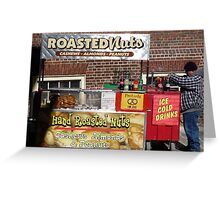 Pretzels Stand - Boston Greeting Card