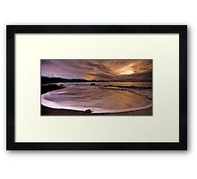 Ring of bright water Framed Print