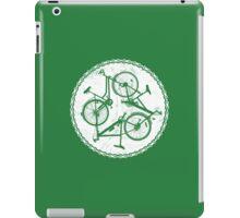 Green Spin iPad Case/Skin