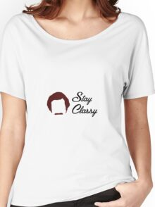 Anchorman - Stay Classy Women's Relaxed Fit T-Shirt