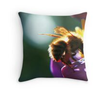 Bumblebee Throw Pillow