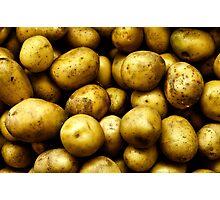 Golden Potatoes  Photographic Print